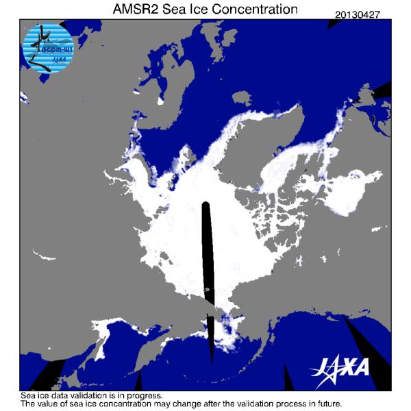 Jaxa sea ice