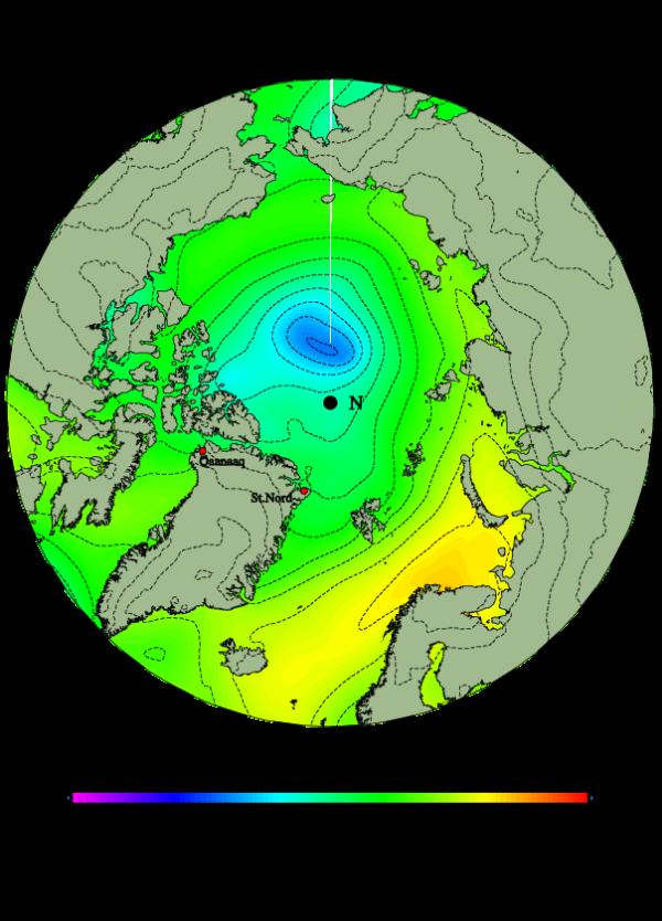 Arctic Cyclone Intensifies
