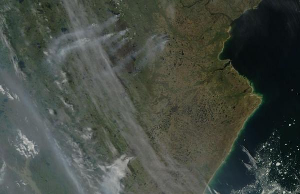 Canadian Tundra Fires June 29