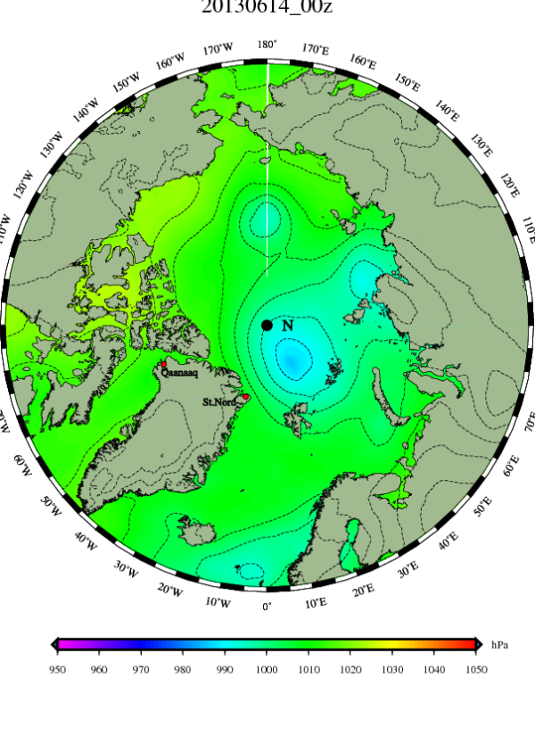 Persistent Arctic Cyclone Enters 4th Week