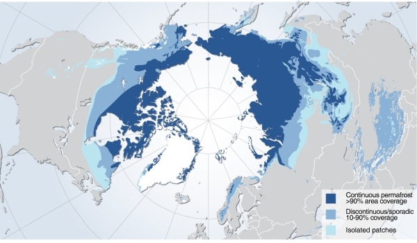 Northern Hemisphere Permafrost NASA CARVE