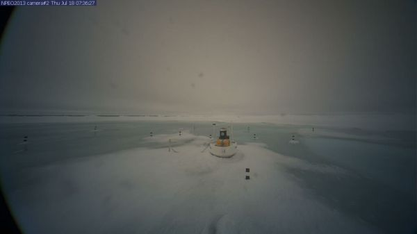 North Pole Camera 2 in Melt Pool