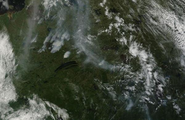 Quebec Wildfires