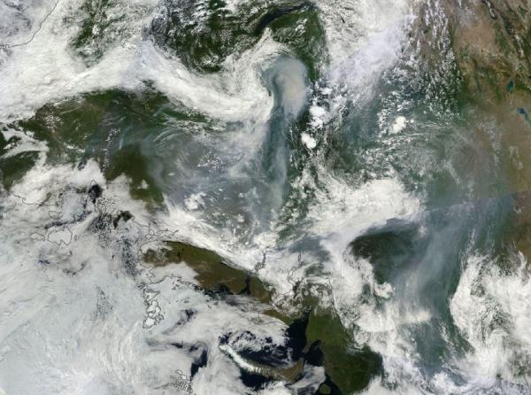 Siberian Wildfires July 31