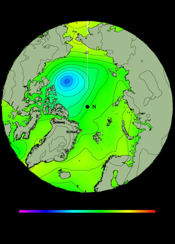 Sudden Arctic Cyclone 2013