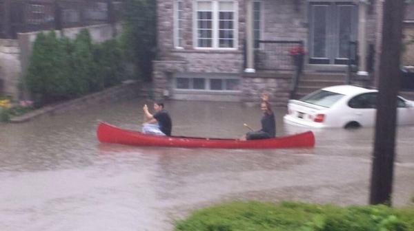 Toronto Flood Neighborhood