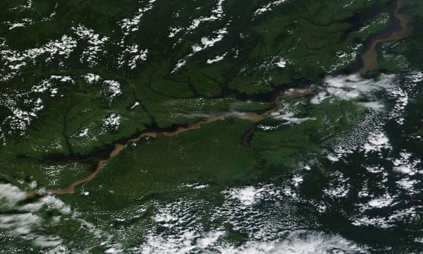 Amur River Flooding August 21