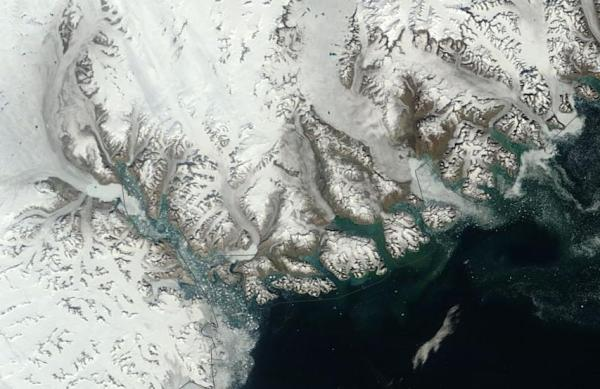 Greenland -- where ice meets ocean