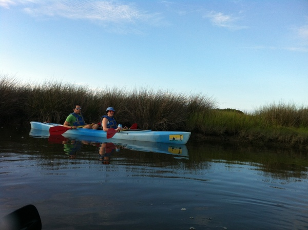 Kayaking Through the Wetlands of Jane Island