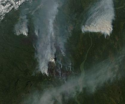 Mackenzie River Fire