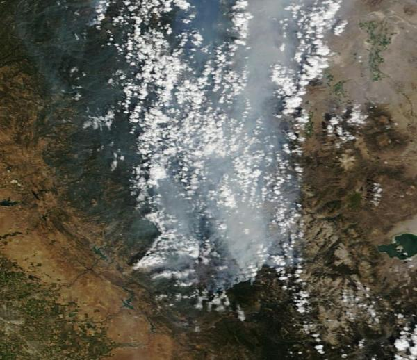 Rim Fire on August 28th, 2013