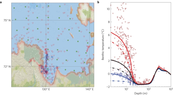 Dynamics of bottom water by the coastal zone