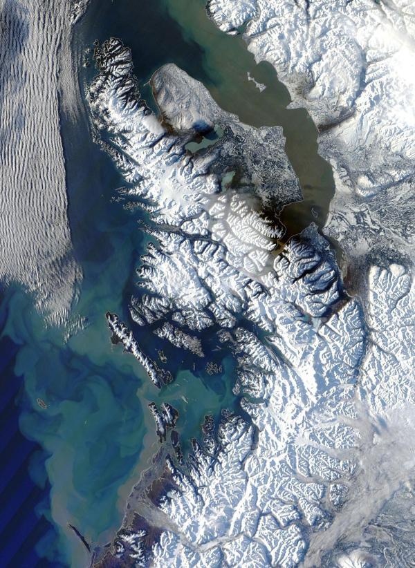 Alaska Melt Rain Sediment January 25