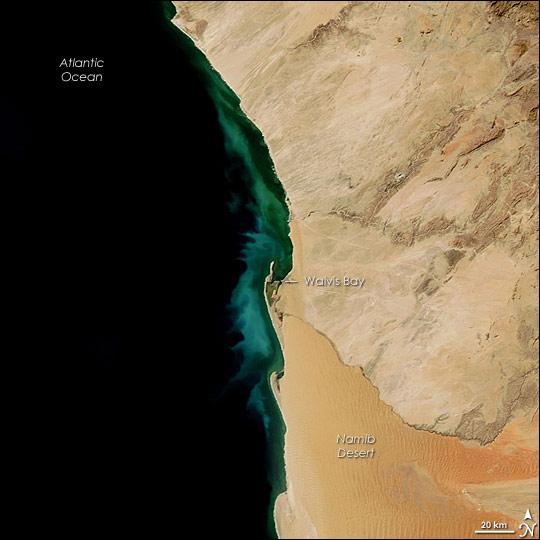 Namibia Hydrogen Sulfide Emission 2007