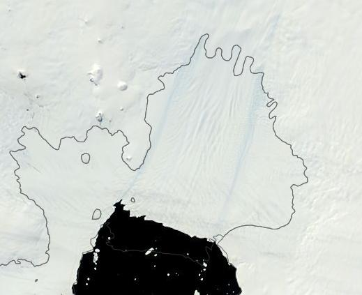 Southern Ocean Interface With Pine Island Glacier