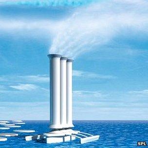 Arctic Cloud Ship