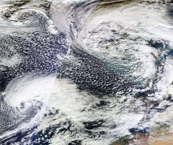 British Isles Beset By Tempests on February 5, 2014