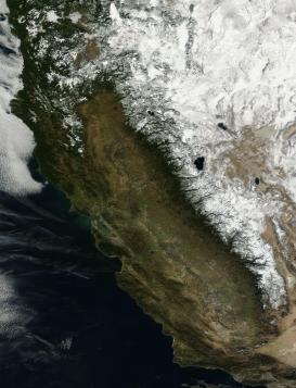 California snow pack January 18 2013