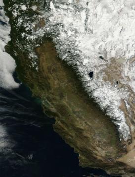 California snow pack January 18 2013
