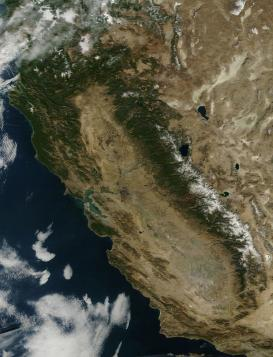 California snow pack January 18 2014