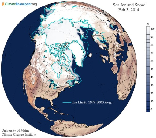 Cryosphere Snow and Ice Feb 3