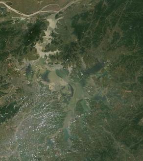 Lake Poyang May 2014
