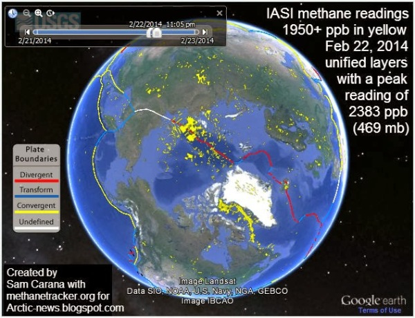 Methane belch