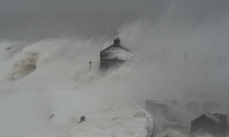 UK Coast Storm