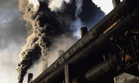 Factory Billows Carcinogenic Smoke