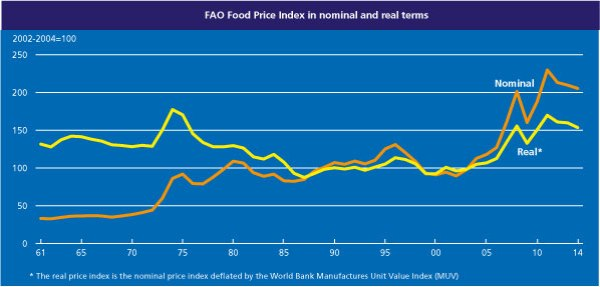 FAO index February 2014