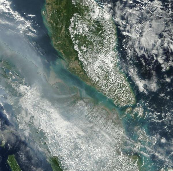 Smoke Smog Singapore Maylaysia
