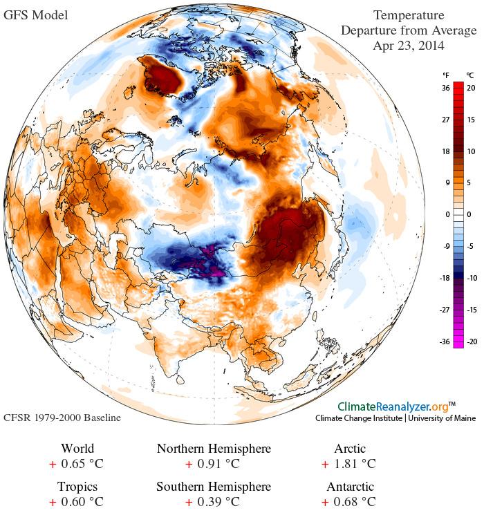 Eastern Russia in a Hot Zone