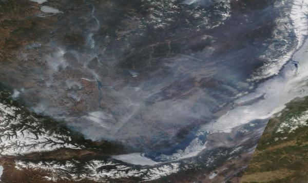 Lake Baikal Fires April 28