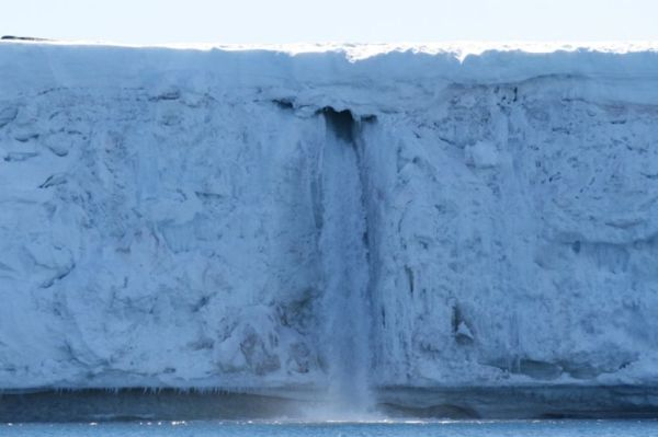 Antarctic Waterfall