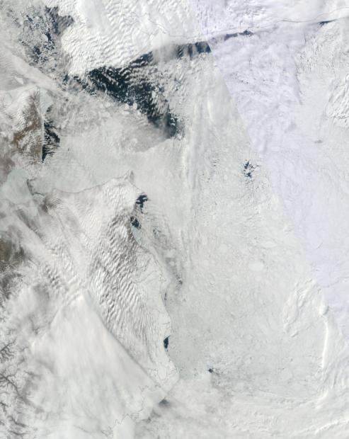 Chukchi Beaufort Melt May 11, 2014