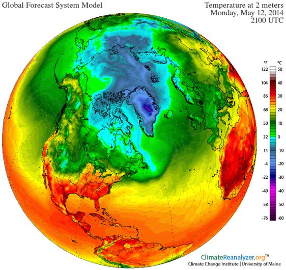 GFS Warm Storm