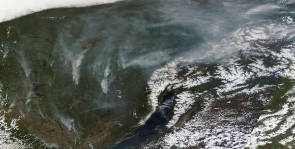 Lake Baikal Fires May 18