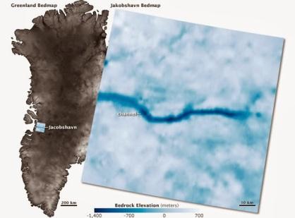 Greenland Bedrock Map