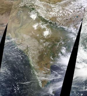 India Monsoon June 25, 2014