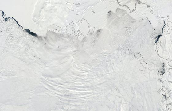 Laptev and East Siberian Sea Ice May 15
