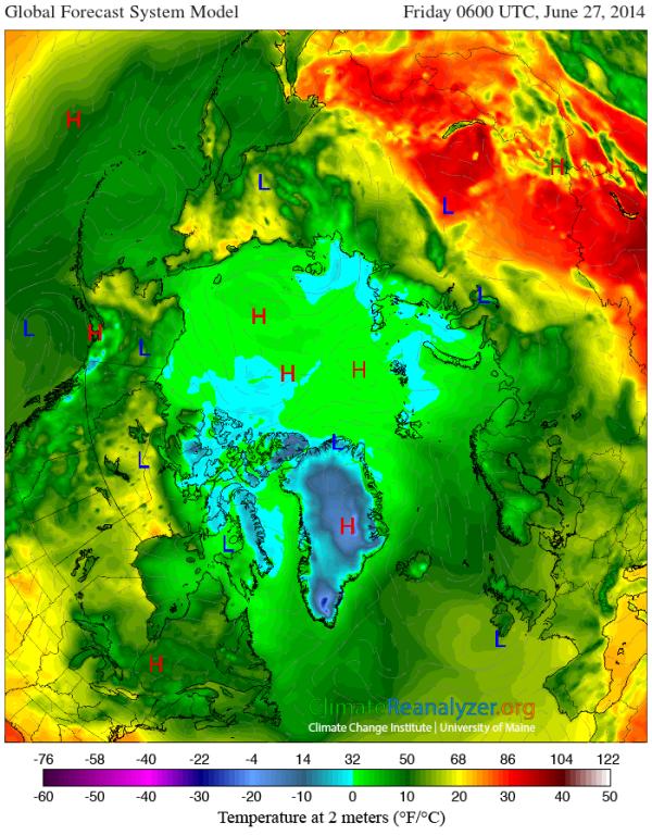 Siberian Heat Dome