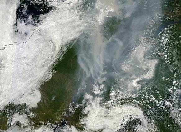 Siberian Fires July 23