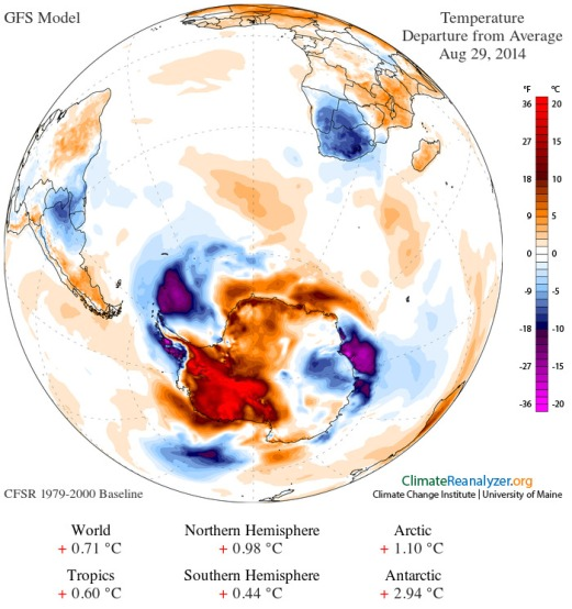 Antarctic Polar Amplification