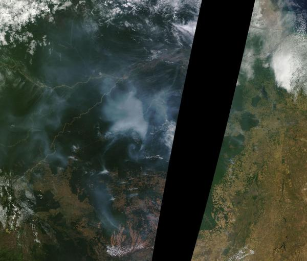 Brazil Wildfires August 20 2014
