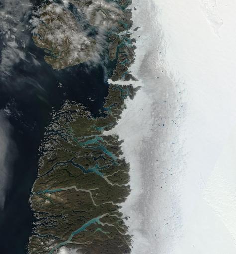Greenland Jacobshavn July 30 2014
