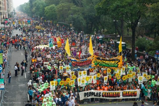 Climate March Grist