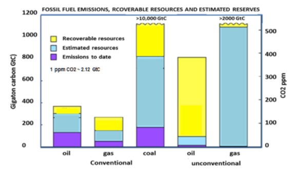 massive carbon reserve