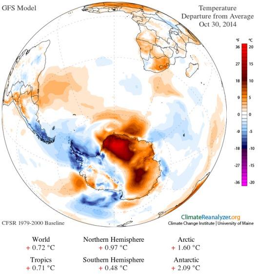 Antarctic Amplification