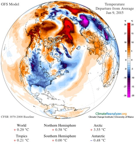 Polar Amplification January 9