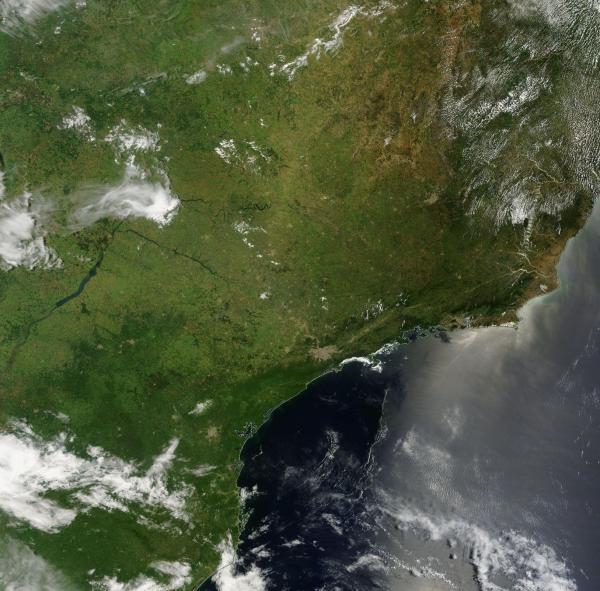 Southeast Brazil Drought January 11